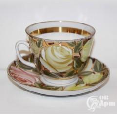 "Чайная пара ""Розы"""